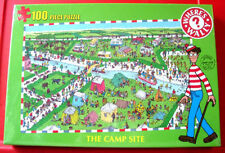 Where's Wally? THE CAMP SITE 100 Jigsaw Puzzle NEW SEALED Campsite/Camping/Waldo