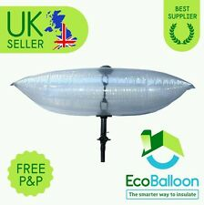 "Eco Balloon - Draft Excluder for Chimney 55cm x 25cm (22""x10""). Free Postage"