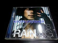 Rain  Vol. 3 It's Raining Bi CD Autographed Signed OOP Rare Rain's World