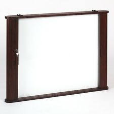 Best-Rite Tambour Door Enclosed Dry Erase Board Cabinet - 28060