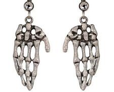 NEW KIRKS FOLLY HAND OF SKELETOR SKELETON  EARRINGS  PIERCED