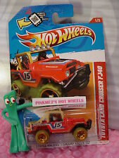 2012 Hot Wheels TOYOTA LAND CRUISER FJ40 #186 US Scan☆RED☆Thrill RacerS