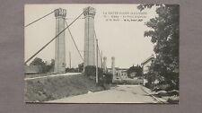 CPA 70 La Haute-Saône illustrée. Gray. Le pont suspendu et la gare.