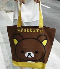 New San-X Rilakkuma Canvas Shoulder Bag