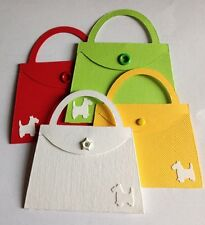 Handbag Bag Fashion With Little Dog Girls And Women Die Cuts