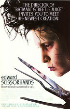 24X36Inch Art EDWARD SCISSORHANDS Movie POSTER Tim Burton Johnny Depp P35