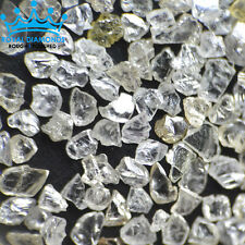 10 crts+ 100% Natural Loose Rough Diamonds Real Flat shape White FL-SI 2.00mm