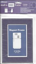 Purple Photo Best Memory Magnetic Mail-A-Frame Greeting Card - Blank Inside