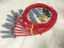 Ford Cleveland 302 351 460 SPARK PLUG LEADS 8.5MM RED female caps