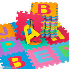 GIANT SIZE FOAM ALPHABET CHILDREN SOFT JIGSAW PUZZLE PLAY LEARNING MAT