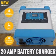 NEW 7 Stage 20 AMP Fully Automatic Battery Charger Suits 20 to 200Ah