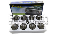 BA-9720 73MM LAND ROVER DEFENDER LED LIGHT LIGHTS SMOKE SMOKED LAMP UPGRADE KIT
