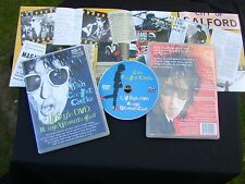 John Cooper Clarke Zip Style DVD signed by the producer