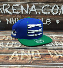 "Vancouver Canucks Zephyr ""Skate Lacer"" Adjustable Snapback"