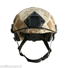 OPS/UR-TACTICAL HELMET COVER FOR OPS-CORE FAST HELMET IN PENCOTT SANDSTORM-M/L