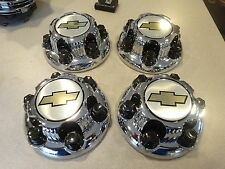 "2000 - 2010 Chevy 1500 Truck  Van 16"" 17""  6 LUG Chrome WHEEL Center Caps  set"