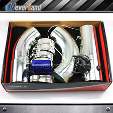 Multi-Combined Aluminium 76mm/3 inch Cold Air Intake System Pipe Induction Kit