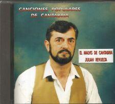 JULIAN REVUELTA (EL MALVIS DE CANTABRIA)-CANCIONES POPULARES DE CANTABRIA CD
