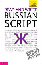 Read and Write Russian Script: Teach Yourself, Daphne West