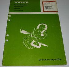 Werkstatthandbuch Volvo 740 760 Standheizung Heizung Typ 07-B 03-B / 03-D 1986!
