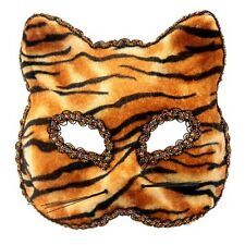 Tiger Venetian Masquerade Mask Cat mask Halloween eyemask Feline Fancy Dress