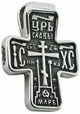 Russisch-Orthodoxe 925 Silber Kreuz  JESUS CHRISTUS