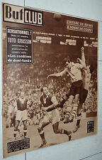 BUT ET CLUB N°234 1950 COUPE FRANCE FOOTBALL STADE REIMS - RACING CLUB PARIS 2-0