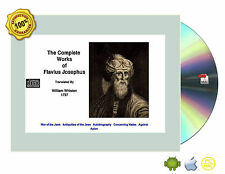 The Complete Works of Flavius Josephus eBook On CD for PC/MAC iPad Android Table