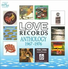 Love Records Anthology 1967-1976 - Various Artists (NEW CD, Jul-2010, RPM)