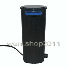 New Low Water Level Internal Hang On Filter Pump For Aquarium Turtle Tank 500L/H