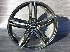 19 Zoll Wheelwolrd WH11 8,5x19 ET35 Dark gun metall Für Audi S-Line A4 A5 A6 A7
