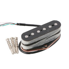 Electric Guitar Tele Bridge Pickup Alnico 5 Magnet BLACK