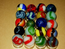 Vintage Marbles Found In Old Barn. Marble King / Vitro / Alley Agate / & Akro