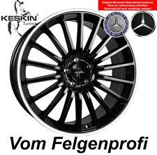 "19"" Keskin KT15 Alufelgen ET30 Black Polish für Mercedes E Klasse 211 W211"