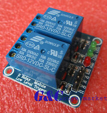 1pcs 12v 2 Channel Relay Module Indicator Light LED Arduino PIC ARM DSP AVR M64