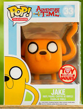 "FUNKO POP! Television_Adventure Time Collection_Flocked JAKE 3.75 "" Vinyl figure"