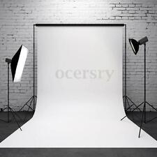 Hintergrund Fotohintergrund für Fotostudio Baumwolle 0.9x1.5M Weiß Screen Stoff