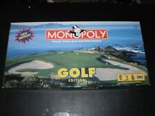 MONOPOLY GOLF EDITION  NEW EDITION PARKER BROS.  1998 CONTENTS EX. COND.