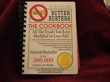 Butter Busters Low Fat Cookbook by Pam Mycoskie 350 Recipes Weight loss 1993, PB