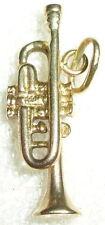 Anhänger Trompete aus 333er Gold