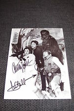 MARK HAMILL CARRIE FISHER HARRISON FORD PETER MAYHEW signed STAR WARS Cast RAR