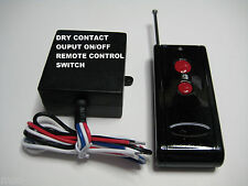 12V DC 500 ft DRY CONTACT on off long range remote control relay switch RP100P