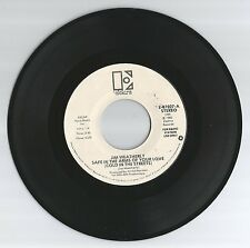 JIM WEATHERLY 45 RECORD-SAFE IN THE ARMS OF LOVE/ ALL I NEED TO KNOW.EX  DJ 1980