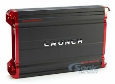 Crunch PZX1800.4 1800W 4-Channel Class AB Powerzone Car Amplifier Car Audio Amp