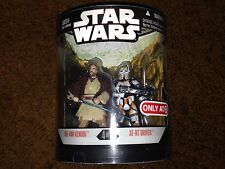 STAR WARS ORDER 66 #4 OF 6 OBI WAN KENOBI AND AT-RT DRIVER TARGET EXCLUSIVE NEW
