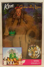 1999 The Wizard of Oz KEN as the COWARDLY LION Barbie Doll #25814 NEW in BOX