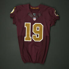 2016 Rashad Ross Washington Redskins Game-Worn Throwback Nike Jersey & Pants