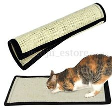 Cat Kitten Corrugated Claw Scratch Play Mat Hanging Bed Sisal Hemp Pad Board Toy