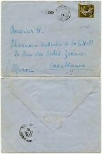 FRANCE MILITARY EGYPT to MOROCCO 1926 + PAQUEBOT...CORPS DARMEES PORT SAID + 40c
