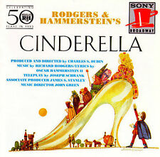 Cinderella by Original 1965 TV Soundtrack (CD, Sep-1993, Sony Broadway)